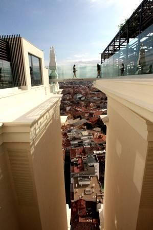 Pasarela Terraza Hotel Riu