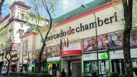 Fachada del Mercado de Chamberí