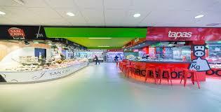 Interior del Mercado de Las Ventas