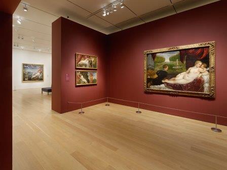 Salas interiores del Museo del Prado