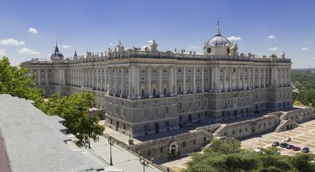 Vista general del Palacio Real