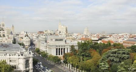 Vistas desde el Mirador de Madrid