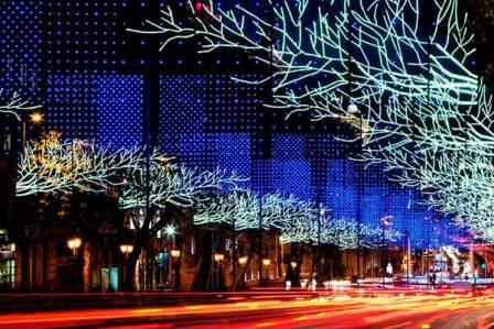 Iluminación en Madrid