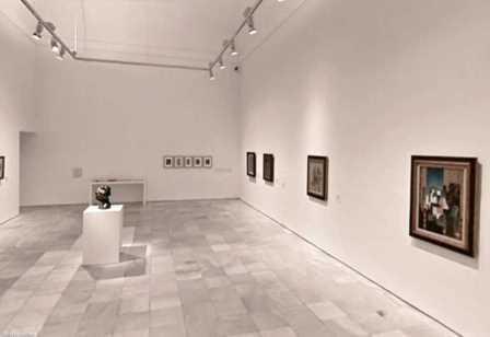 Interior del Museo Reina Sofía
