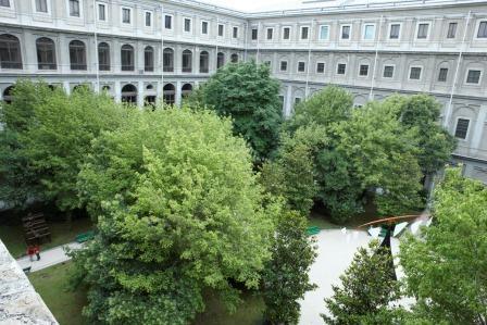 Jardines del Museo Reina Sofía