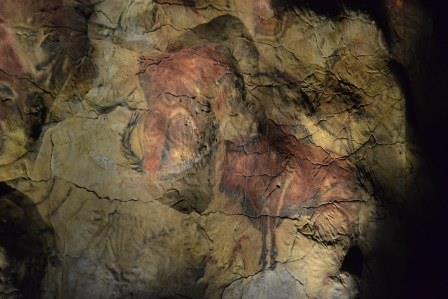 Réplica en Madrid de las Cuevas de Altamira